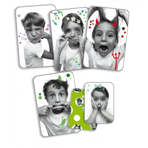 "CARTAS MUECAS DIVERTIDAS ""GRIMACES"""