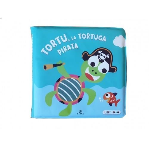 LIBRO PLÁSTICO TORTUGA