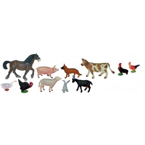 ANIMALES GRANJA (SET 11 FIGURAS)