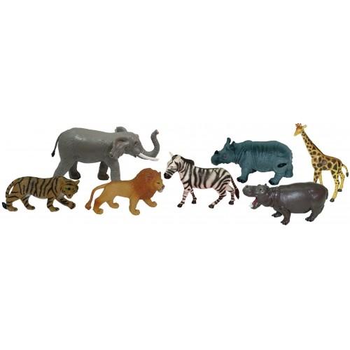 ANIMALES SELVA (SET 7 FIGURAS)