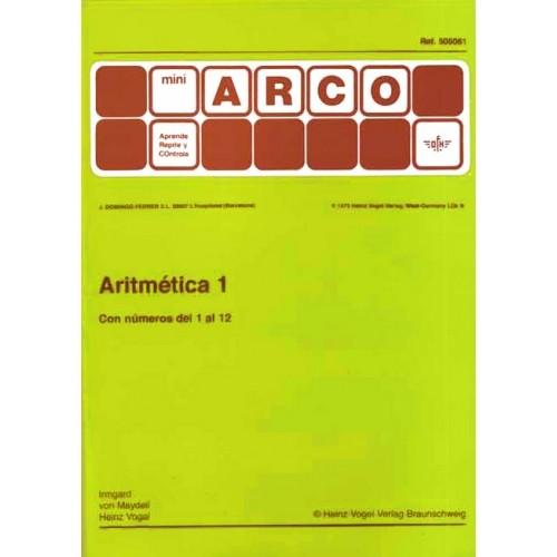 ARITMÉTICA 1 (con números del 1 al 12)