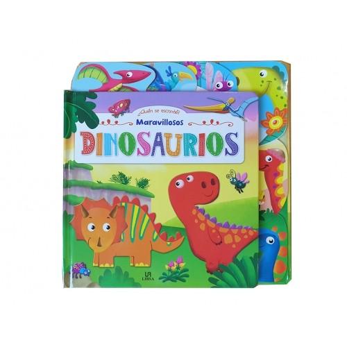 COLECCIÓN QUIEN SE ESCONDE Dinosaurios