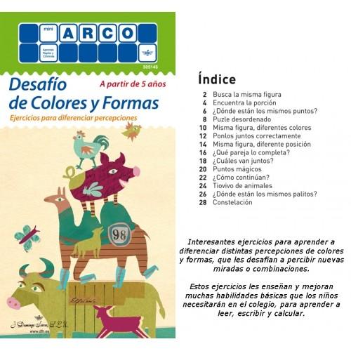 DESAFIO DE COLORES Y FORMAS