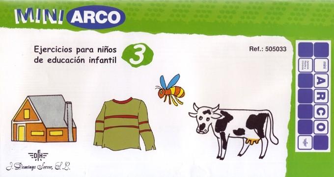 EJERCICIOS PARA NIÑOS DE EDUCACIÓN INFANTIL 3