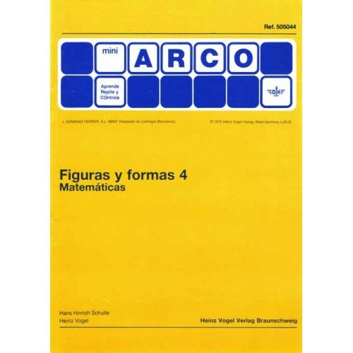 FIGURAS Y FORMAS 4 (Matemáticas)