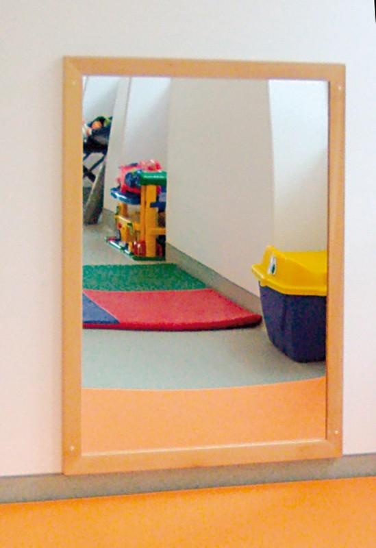 Espejo infantil marco madera ANCHO