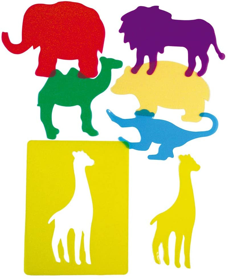 PLANTILLAS TRASLÚCIDAS ANIMALES ZOO