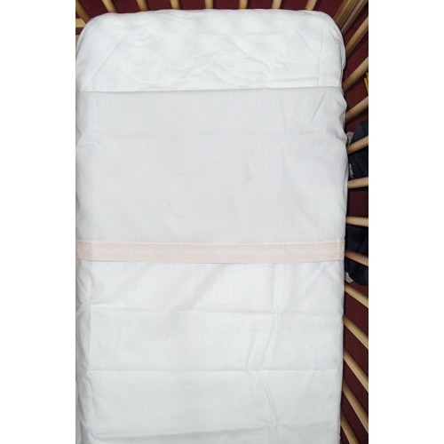 SÁBANAS CUNA bajera ajustable 120 x 60 cm