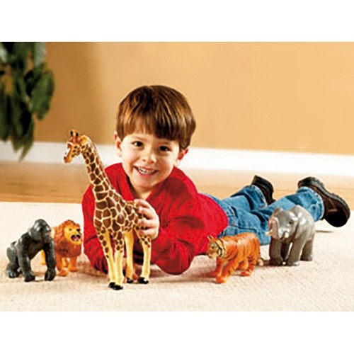SET 5 ANIMALES SELVA JUMBO