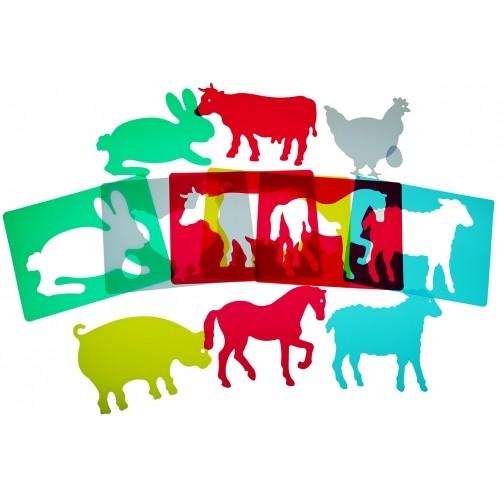 SET 6 ANIMALES GRANJA