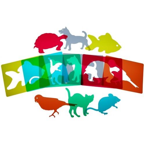 SET 6 ANIMALES MASCOTAS
