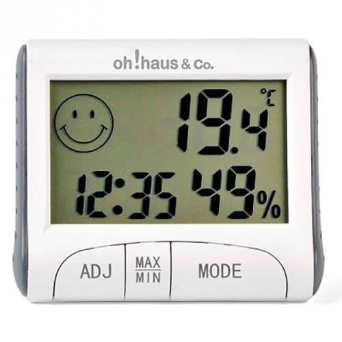 Termómetro / reloj
